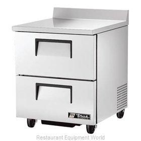 True TWT-27D-2-HC Refrigerated Counter, Work Top