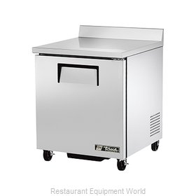 True TWT-27F 6.5 Cu Ft Work Top Freezer