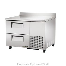 True TWT-44D-2 Refrigerated Counter, Work Top