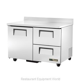 True TWT-48D-2-HC Refrigerated Counter, Work Top