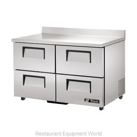 True TWT-48D-4-ADA Refrigerated Counter Work Top