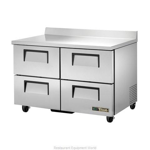 True TWT-48D-4-HC Refrigerated Counter, Work Top