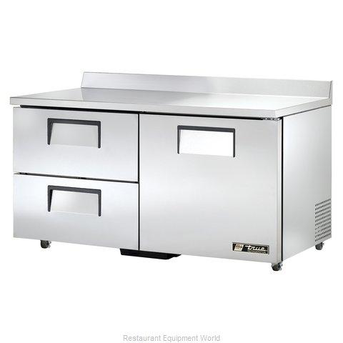 True TWT-60D-2-ADA-HC Refrigerated Counter, Work Top