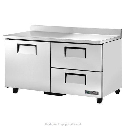 True TWT-60D-2-HC Refrigerated Counter, Work Top