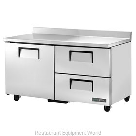 True TWT-60D-2-HC Refrigerated Counter, Work Top