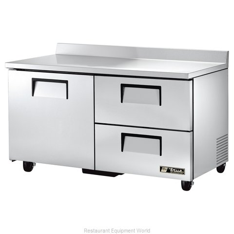 True TWT-60D-2 Refrigerated Counter Work Top