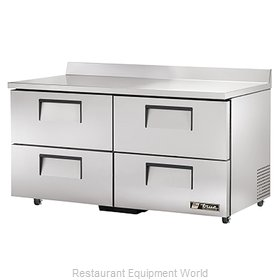 True TWT-60D-4-ADA Refrigerated Counter Work Top