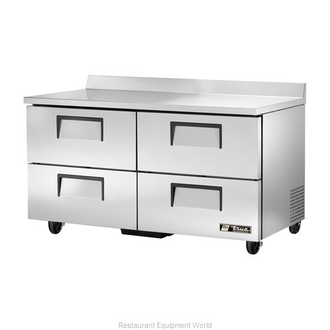 True TWT-60D-4-HC Refrigerated Counter, Work Top