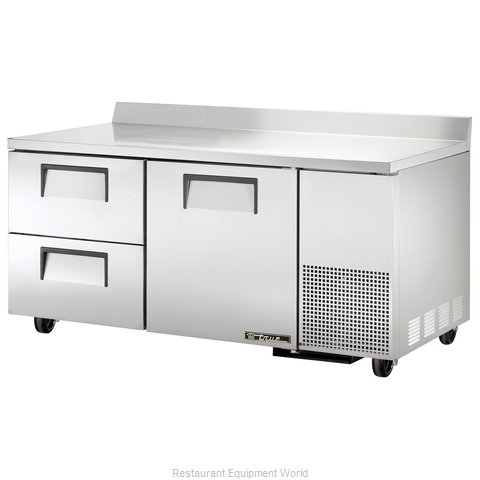 True TWT-67D-2 Refrigerated Counter, Work Top
