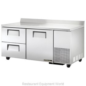 True TWT-67D-2 Refrigerated Counter Work Top