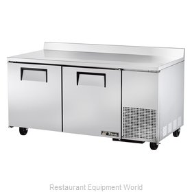 True TWT-67F Freezer Counter, Work Top