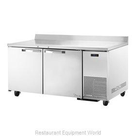 True TWT-67F~SPEC1 Freezer Counter, Work Top