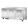Refrigerador con Superficie de Trabajo <br><span class=fgrey12>(True TWT-72-HC Refrigerated Counter, Work Top)</span>