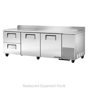 True TWT-93D-2 Refrigerated Counter, Work Top