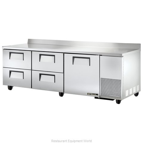 True TWT-93D-4 Refrigerated Counter, Work Top