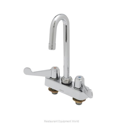 TS Brass 5F-4CWX03A Faucet Workboard (Magnified)