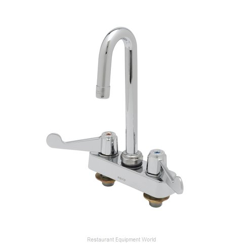 TS Brass 5F-4CWX05 Faucet Deck Mount (Magnified)