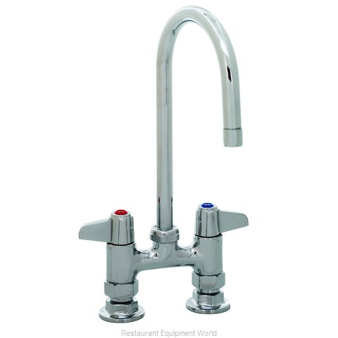 TS Brass 5F-4DLX05 Faucet Deck Mount (Magnified)