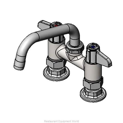 TS Brass 5F-4DLX06 Faucet Deck Mount (Magnified)
