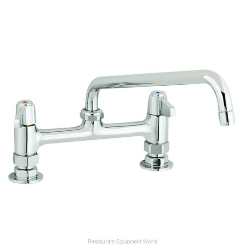 TS Brass 5F-8DLX14 Faucet Deck Mount (Magnified)