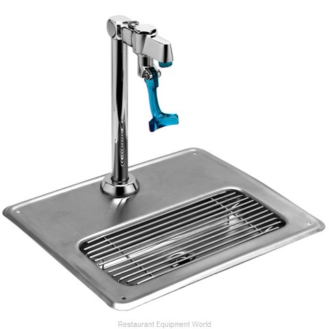 TS Brass 5GF-8P-WS Glass Filler Station with Drain Pan