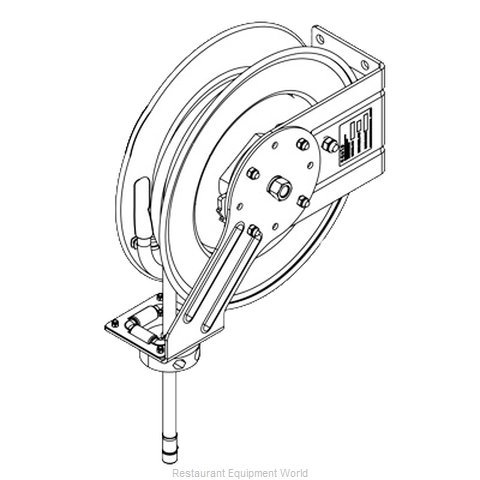 TS Brass 5HR-342-GH Hose Reel (Magnified)