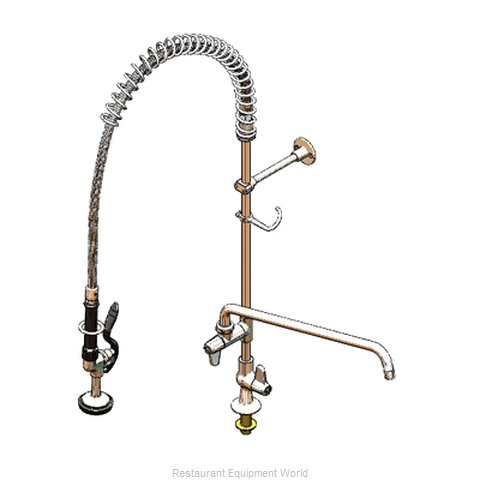 TS Brass 5PR-1S18 Pre-Rinse Faucet Assembly, with Add On Faucet