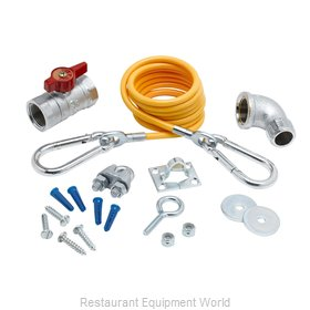 TS Brass AG-KD Gas Connector Hose Kit