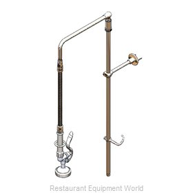 TS Brass B-0111-02 Pre-Rinse Faucet Assembly