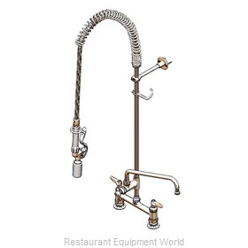 TS Brass B-0123-12-CR-BC Pre-Rinse Faucet Assembly