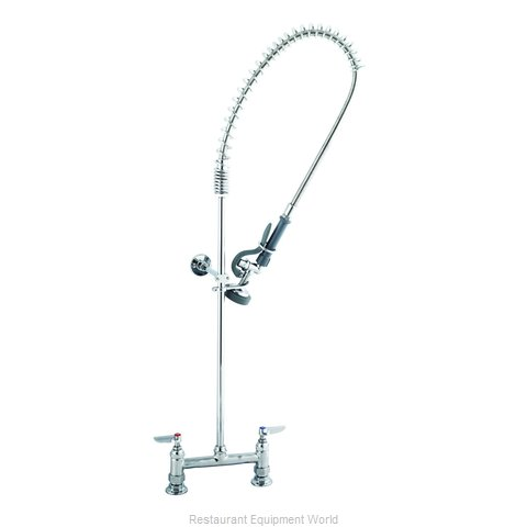 TS Brass B-0123-CR-B Pre-Rinse Faucet Assembly (Magnified)
