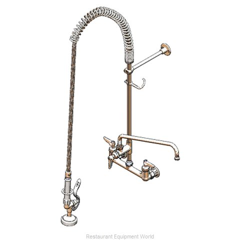 TS Brass B-0133-01-CR Pre-Rinse Unit (Magnified)