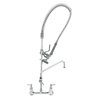TS Brass B-0133-12-CR-B Pre-Rinse Faucet Assembly, with Add On Faucet