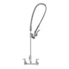 TS Brass B-0133-ADF-LN Pre-Rinse Faucet Assembly, with Add On Faucet