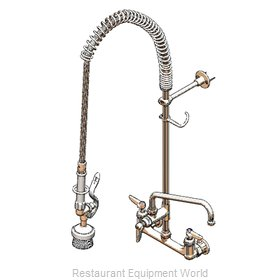 TS Brass B-0133-ADF14-BR Pre-Rinse Faucet Assembly, with Add On Faucet