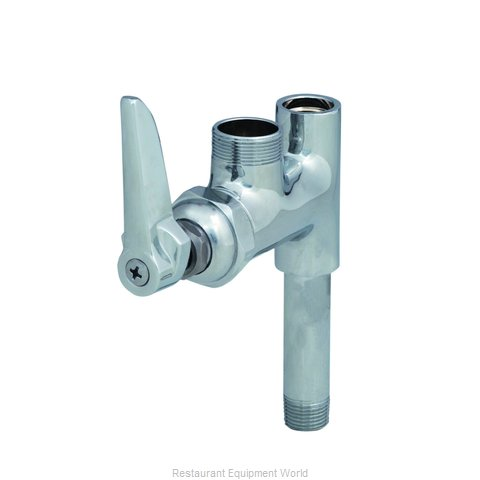 TS Brass B-0155-CR-LN Pre-Rinse, Add On Faucet (Magnified)
