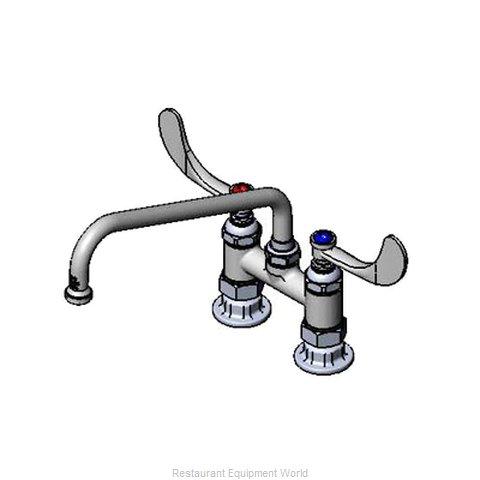 TS Brass B-0226-WH4 Faucet Deck Mount