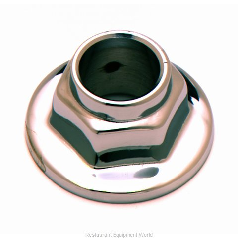 TS Brass B-0460 Slip Flange (Magnified)