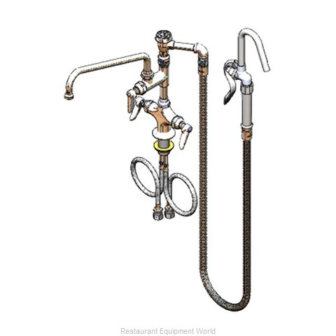 TS Brass B-0602 Faucet with Spray Hose