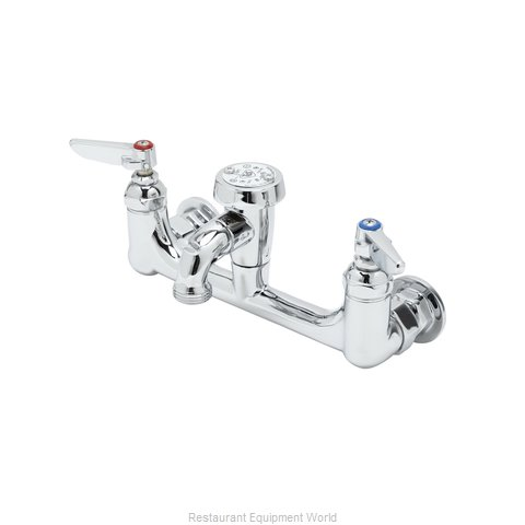 TS Brass B-0674-CR-POL Faucet, Service Sink (Magnified)