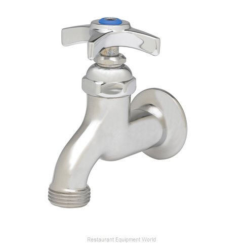 TS Brass B-0702 Faucet, Single Wall Mount, with Hose Threads