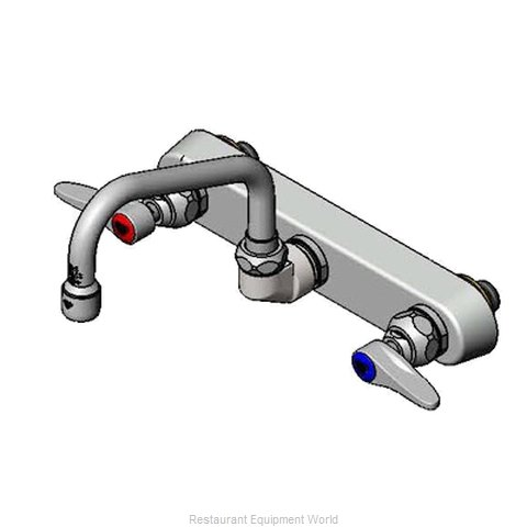 T&S Brass B-1125 Wall-Mount Sink Faucet (Magnified)