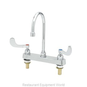 TS Brass B-1142-04XS-F12 Faucet Deck Mount