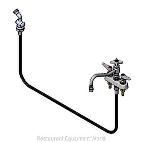 TS Brass B-1151 Faucet with Spray Hose