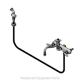 TS Brass B-1157 Faucet with Spray Hose