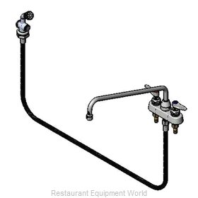 TS Brass B-1171-01 Faucet with Spray Hose