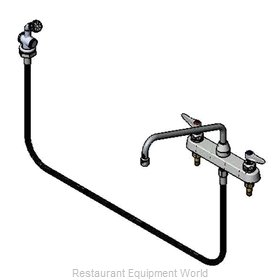 TS Brass B-1172-01 Faucet with Spray Hose