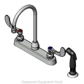 TS Brass B-1172-07-WH4 Faucet with Spray Hose