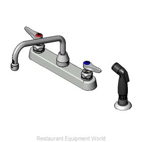 TS Brass B-1172-07 Faucet with Spray Hose