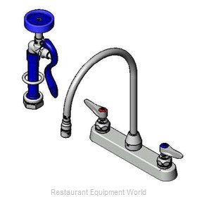 TS Brass B-1172-96-135X Faucet with Spray Hose